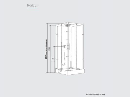 Kinedo Horizon Measurements Img01