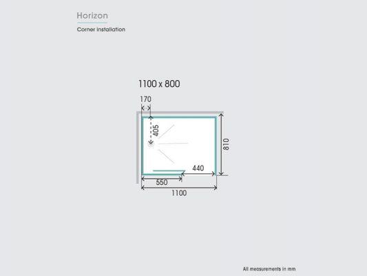Kinedo Horizon Measurements Img03