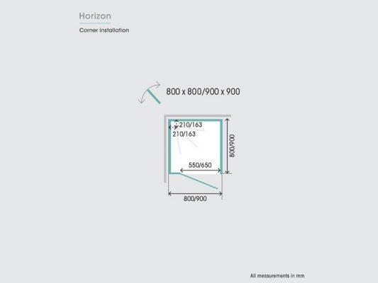 Kinedo Horizon Measurements Img04