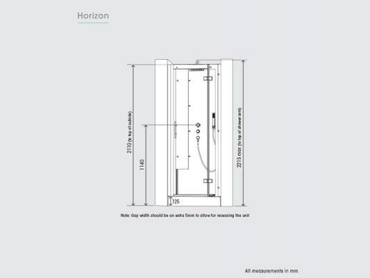 Kinedo Horizon Measurements Img09