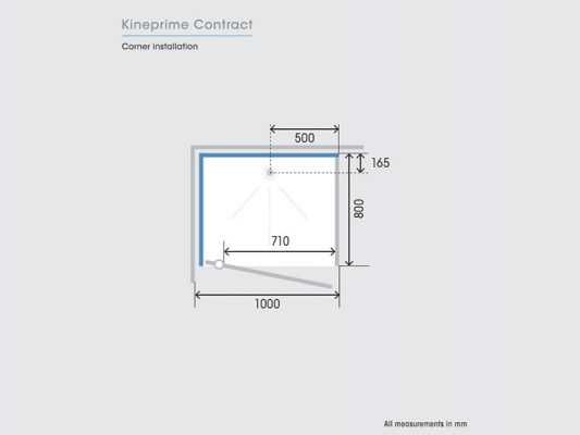 Kinedo KinePrime Contract Measurements Img03