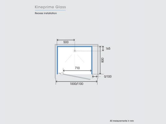 Kinedo KinePrime Glass Measurements Img03