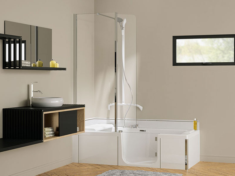 Kineduo Walk In Bathtub | Save £1,000 on RRP | Free Delivery