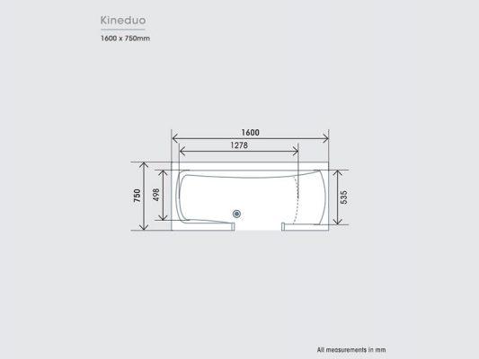 Kinedo Kineduo Measurements Img01