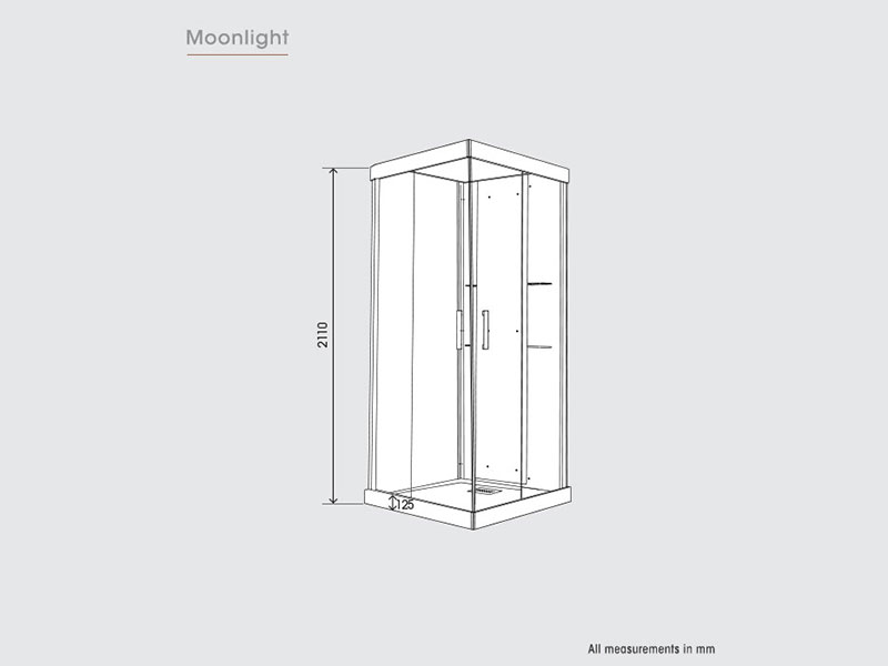 Kinedo Moonlight Shower Cubicles Save 50 On Rrp