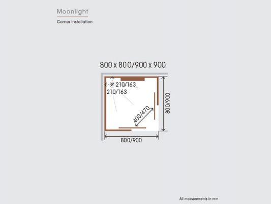 Kinedo Moonlight Measurements Img03