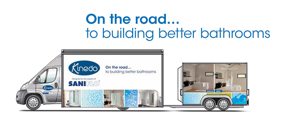 Kinedo Roadshow - Building Better Bathrooms