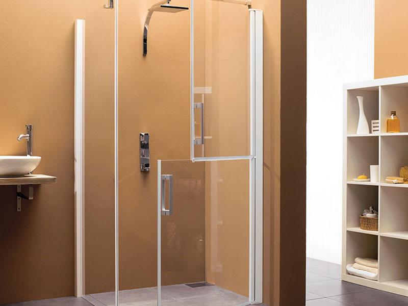Sanidoor split shower door for disabled access | Free delivery