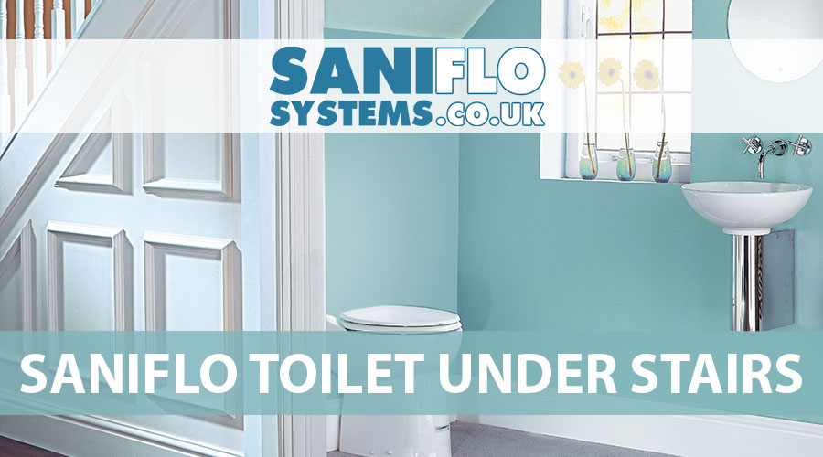 Saniflo Toilet Under Stairs